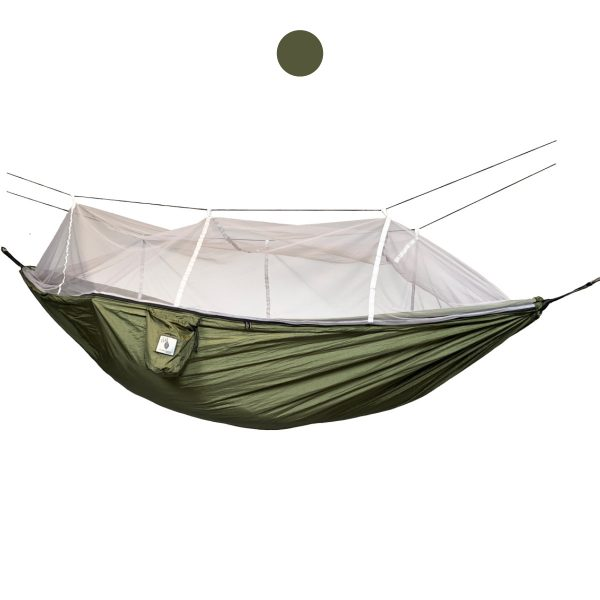hengekøye med myggnett enkel