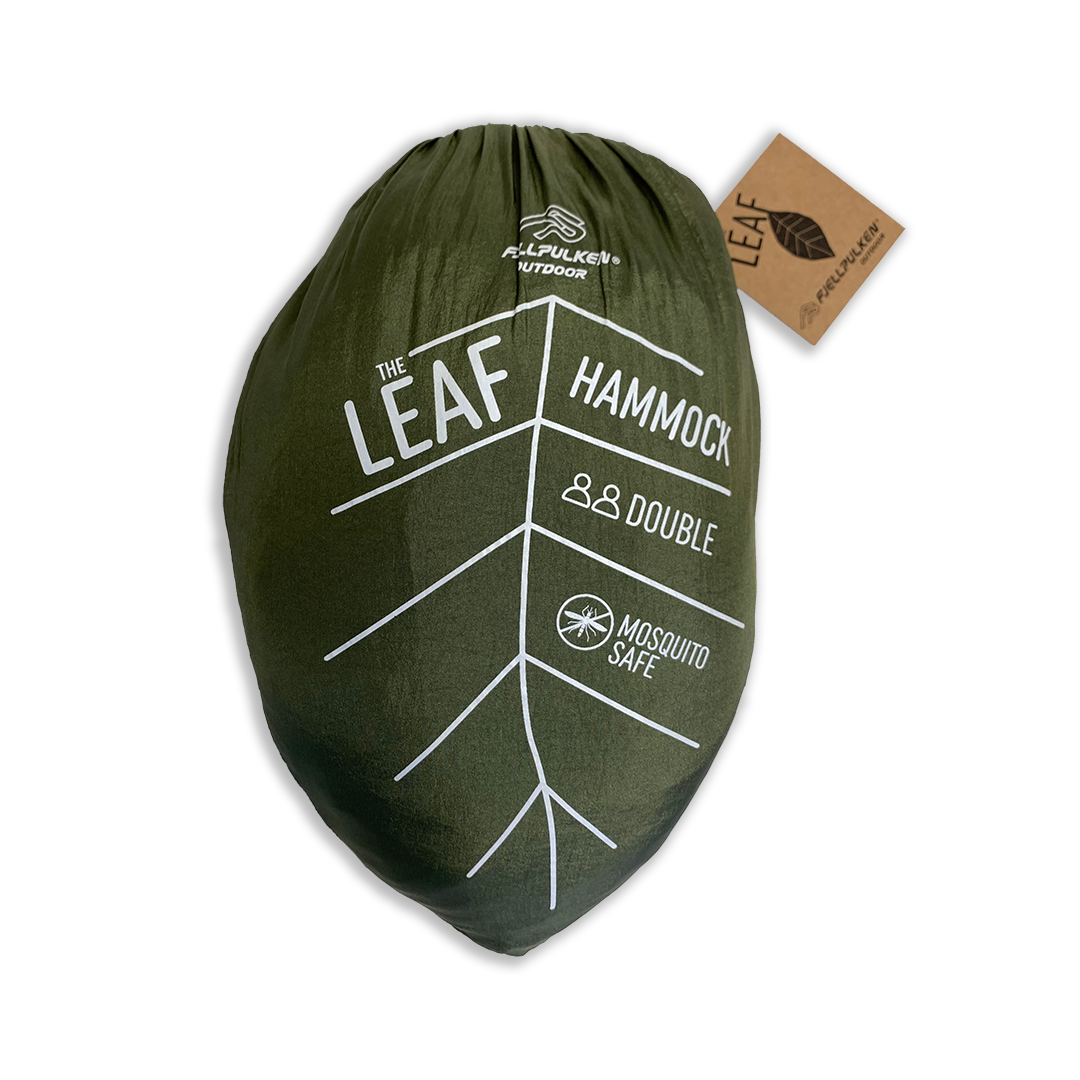The LEAF hengekøye dobbel med myggnetting