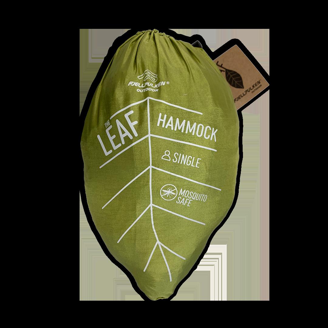 The LEAF hengekøye enkel med myggnetting